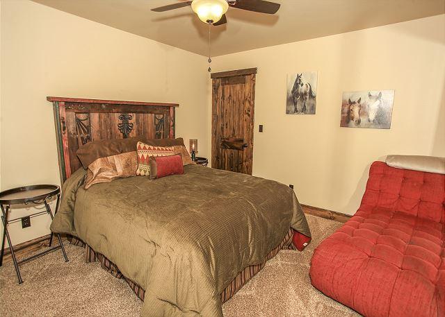Downstairs Bedroom 4 with Queen Bed