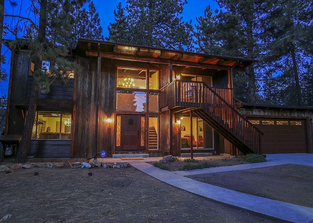 Beautiful Cabin at Twilight