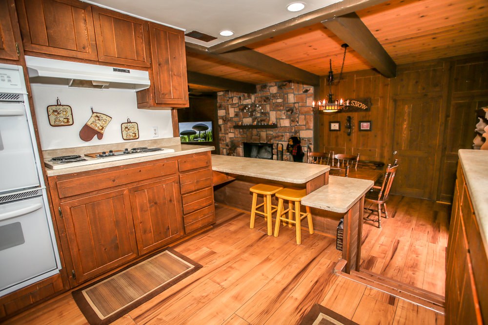 Kitchen with Rustic Decor