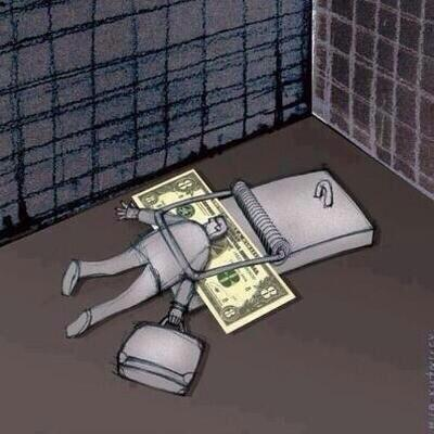 World Reversed - Catching Man by showing Money
