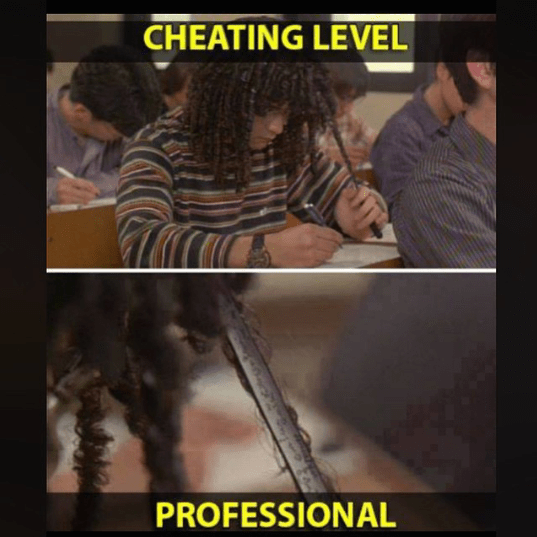The new and advanced - professional cheating methods