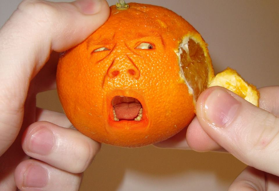The sad orange