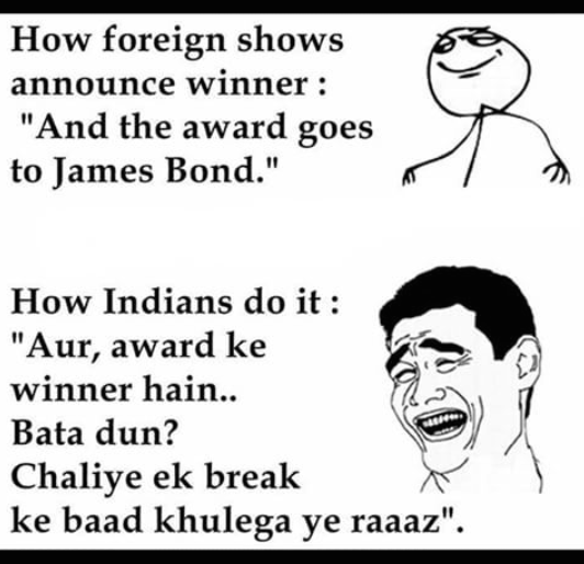 Award ceremony - but ek break ke baad