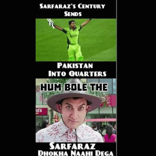 Pakistan's World Cup journey in PK style