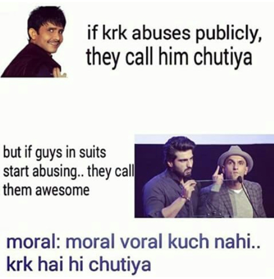 Difference between KRK and others