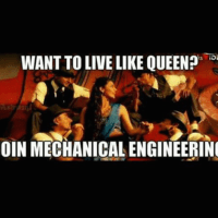 Girls in mechanical engineering are like Queens