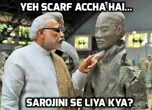 Modi's China visit result - Sarojini merchants exporting to China