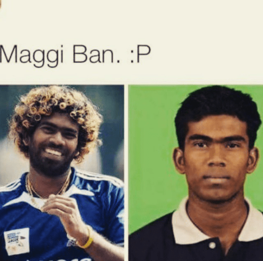 Even Maggi can change lives - effect on Malinga
