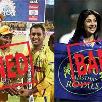 Chennai Super Kings and Rajasthan Royals banned from ipl for 2 years