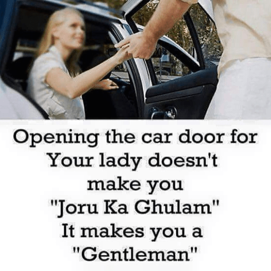 There is a difference between Joru ka Ghulam and Gentleman