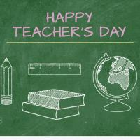 Wishing all the teachers and gurus - Happy teachers day