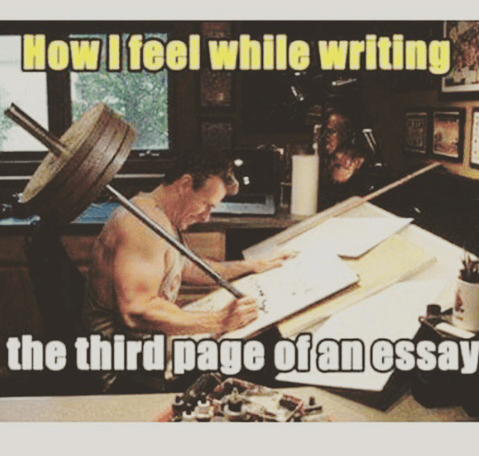 How difficult writing an essay becomes