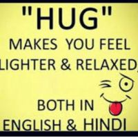 The deep meaning of the word hug