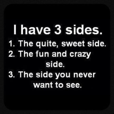 How many sides do you have?