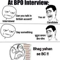 This is how indians talk in british accent - duguna lagaan dena parega