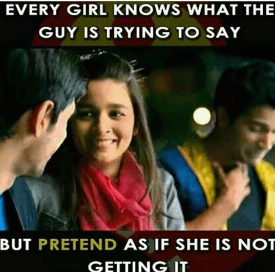 A perfect fact about beautiful girls