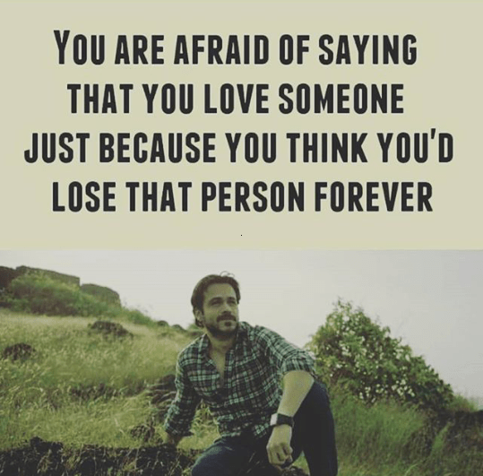 The fear of losing your loved ones - Love quote image