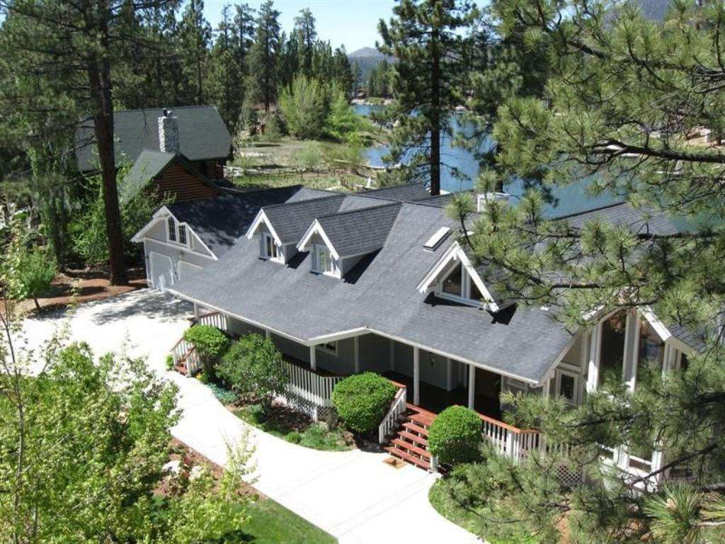 Aerial view of house. Check out our new 360 Virtual tour of the property above!!