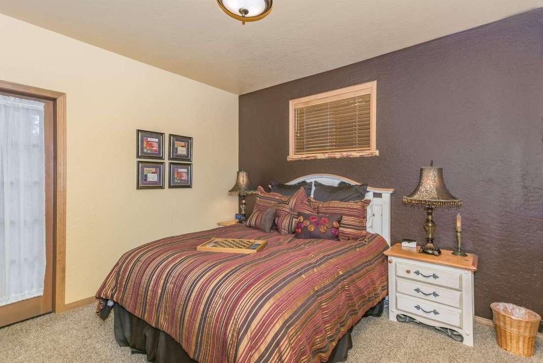 Bedroom 2 has quality queen bed