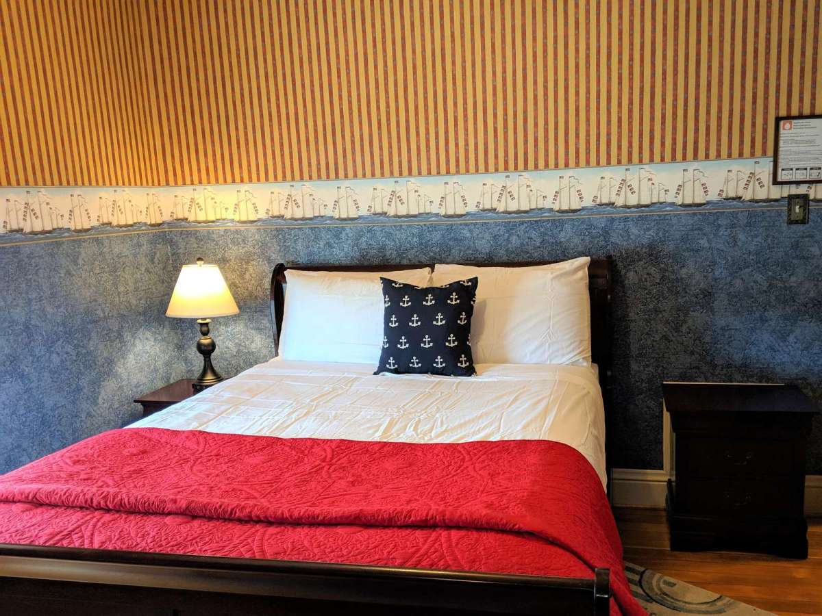 Bedroom #4 has a cozy queen bed located on the 2nd floor