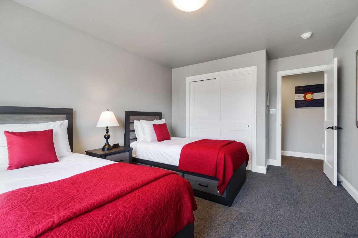 Hawk House II Second Bedroom
