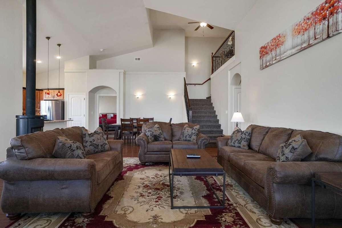 Black Bear IV Living Room