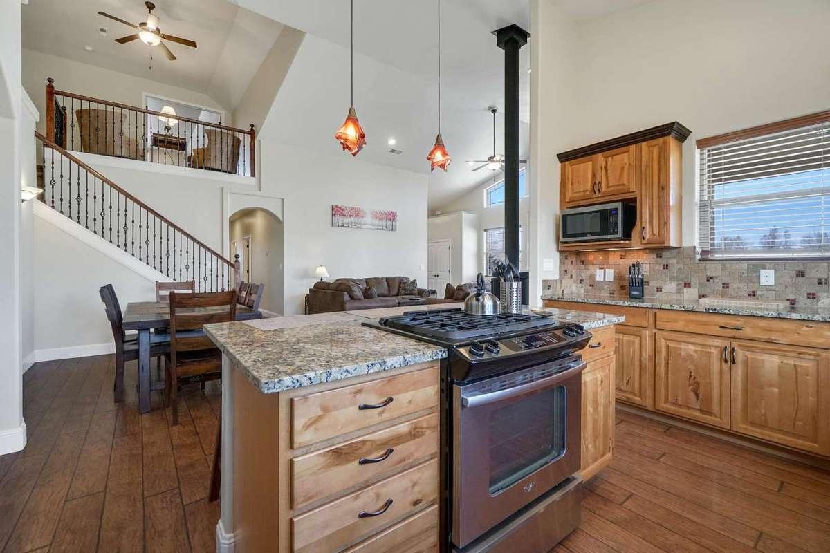 Black Bear II Kitchen