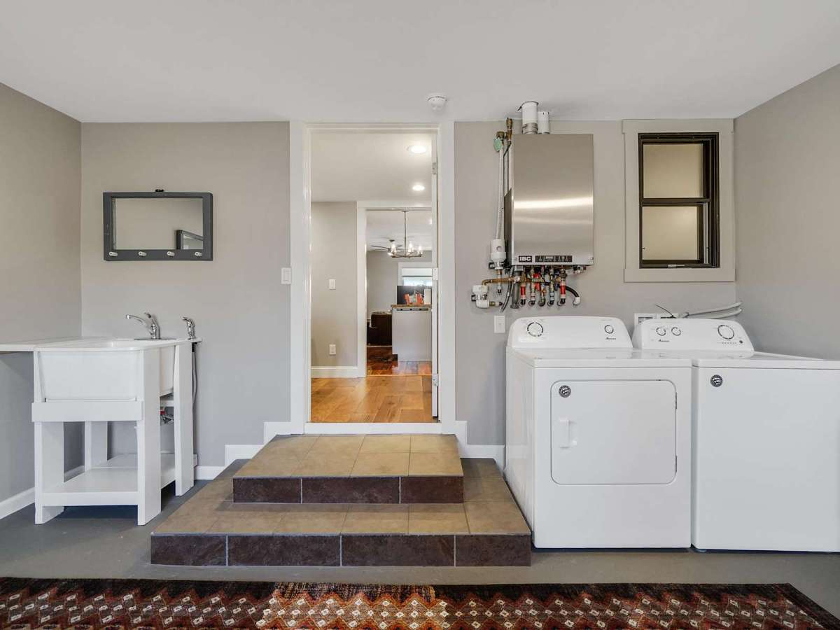 Dirty laundry? no problem. Full access washer and dryers.