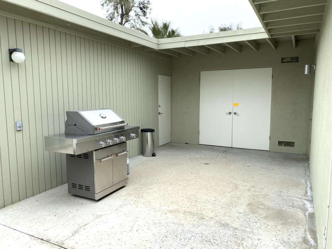 BBQ with propane included