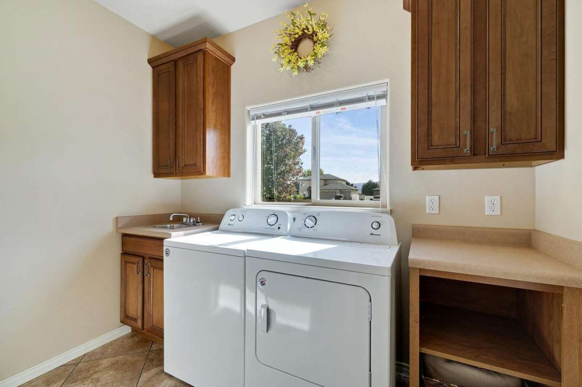 Washer and dryer included with a complimentary laundry soap to start off with