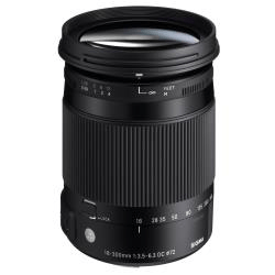 Objectif Sigma Contemporary - Objectif à zoom - 18 mm - 300 mm - f/3.5-6.3 DC Macro OS HSM - Nikon AF-S eos 80d Canon EOS 80D 1sifc303890si886954big