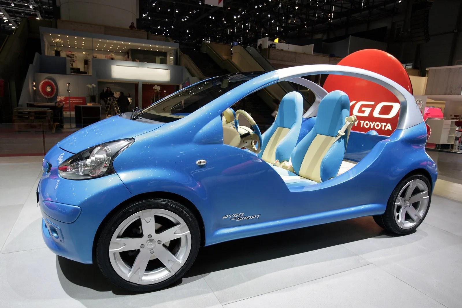 2007 Toyota Aygo Top Speed