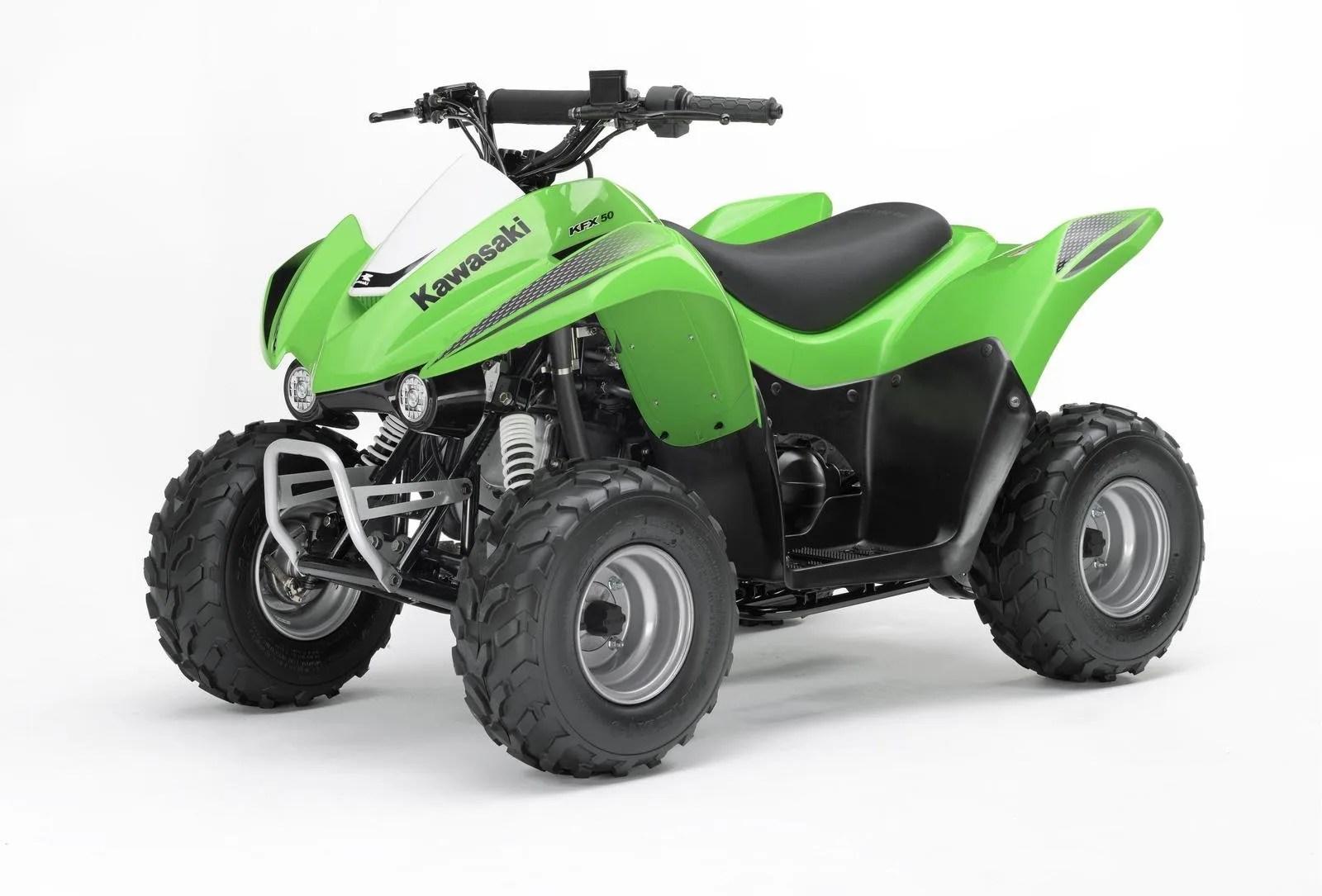 Kawasaki Kfx50 Review