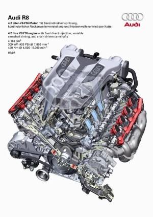 42L engine manifold intake for racing