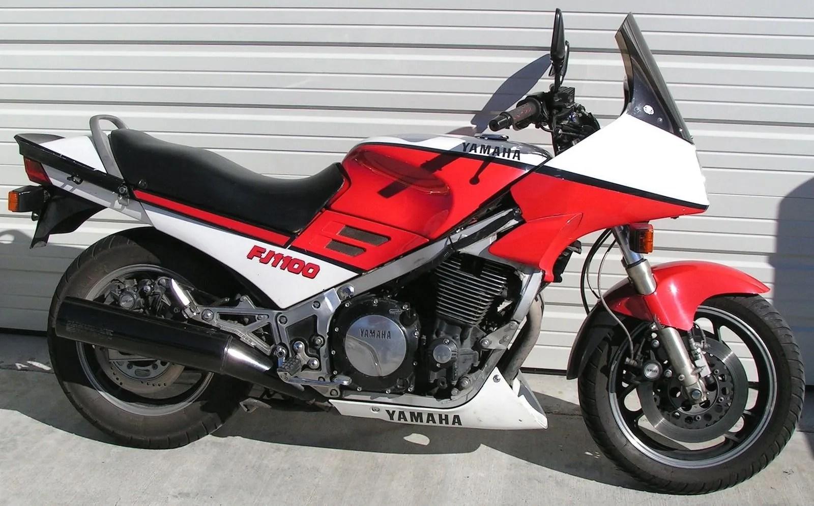 1986 1996 Yamaha FJ1100 And Yamaha FJ1200 Picture
