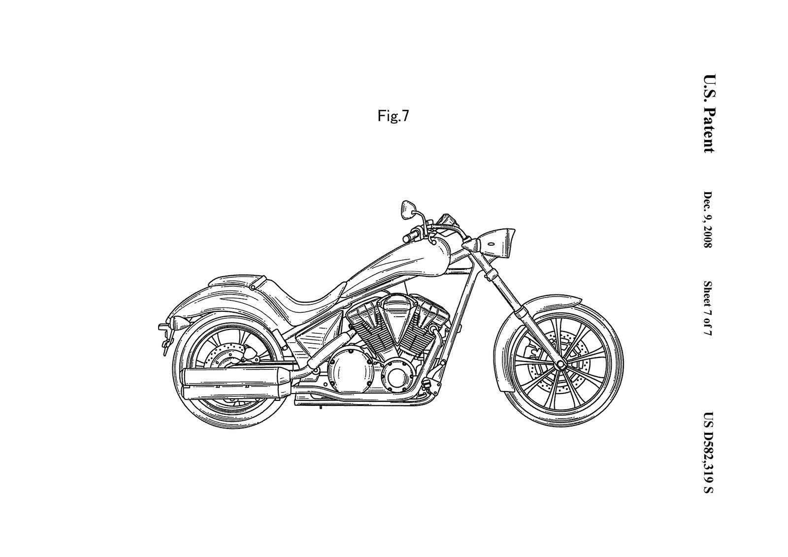 Honda Reveals Patent Images Of Their Fury News