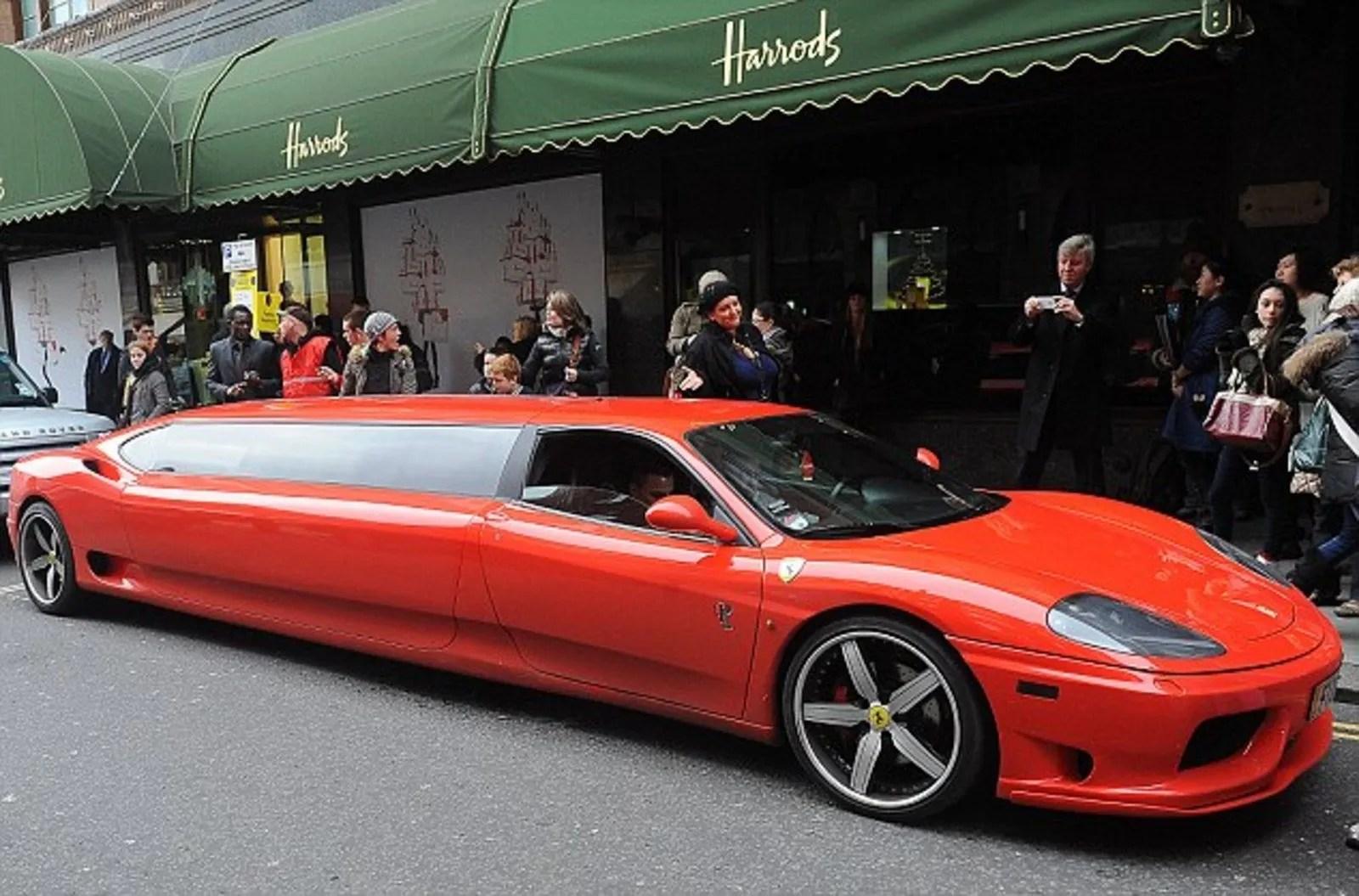 Ferrari 360 Modena Limousine The Perfect Ride For Santa News Top Speed