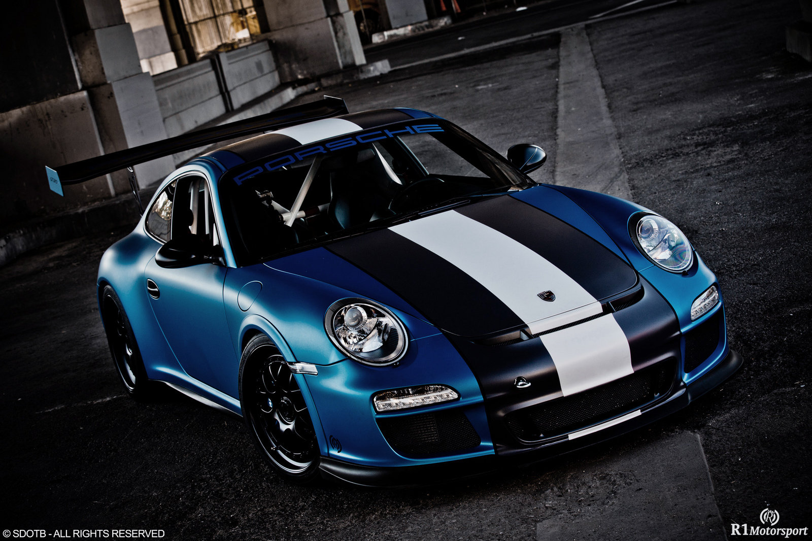 2012 Porsche Gt3 Rs Satin Blue By Royal Muffler Top Speed