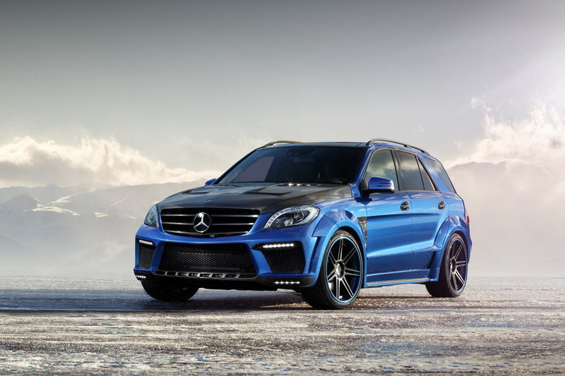 """2013 Mercedes-Benz ML 63 AMG """"Inferno"""" by TopCar wallpaper image"""