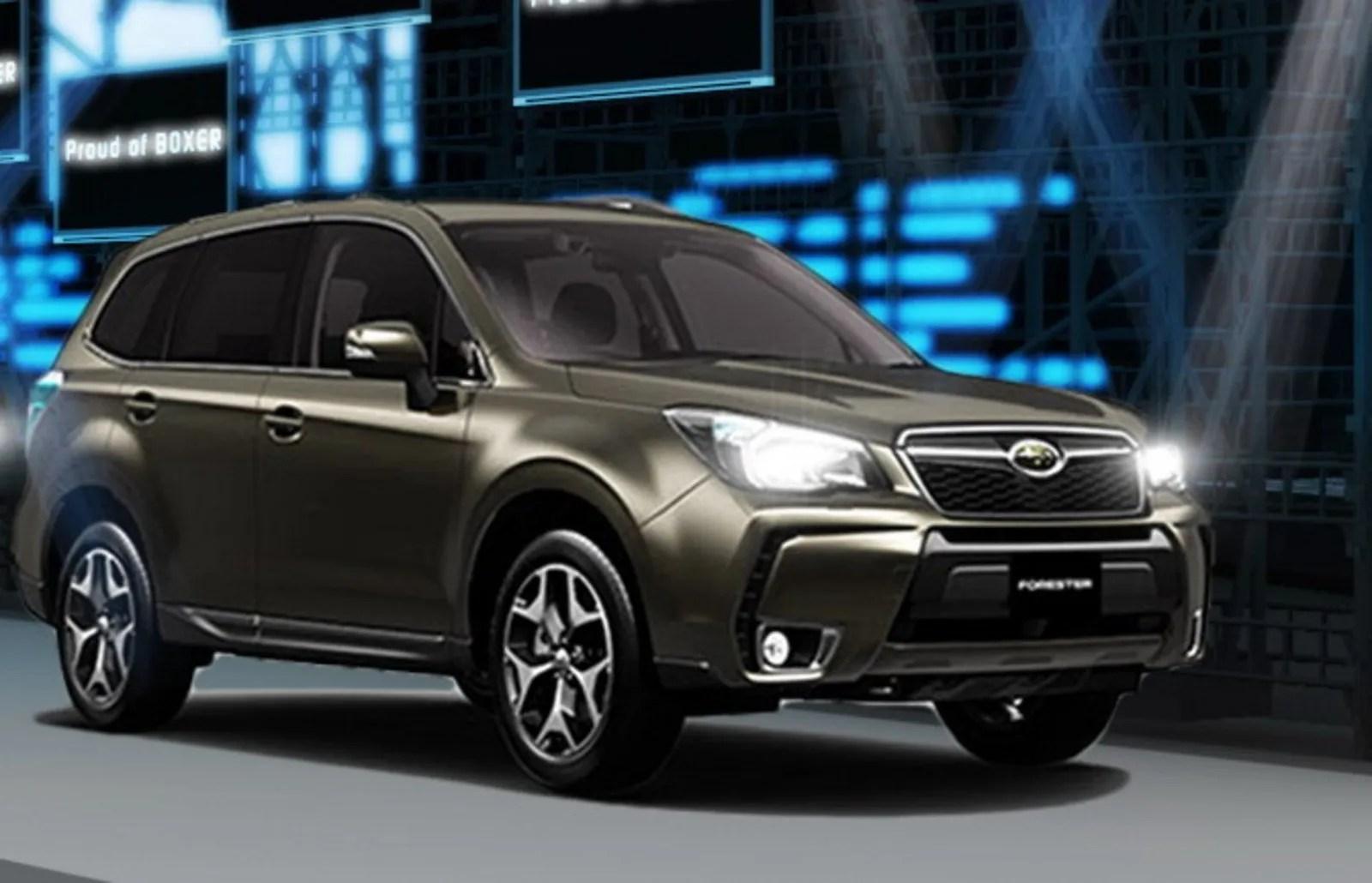 Subaru Forester Sport Concept Review