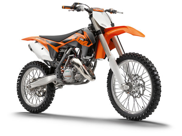2013 KTM 125 SX | motorcycle review @ Top Speed