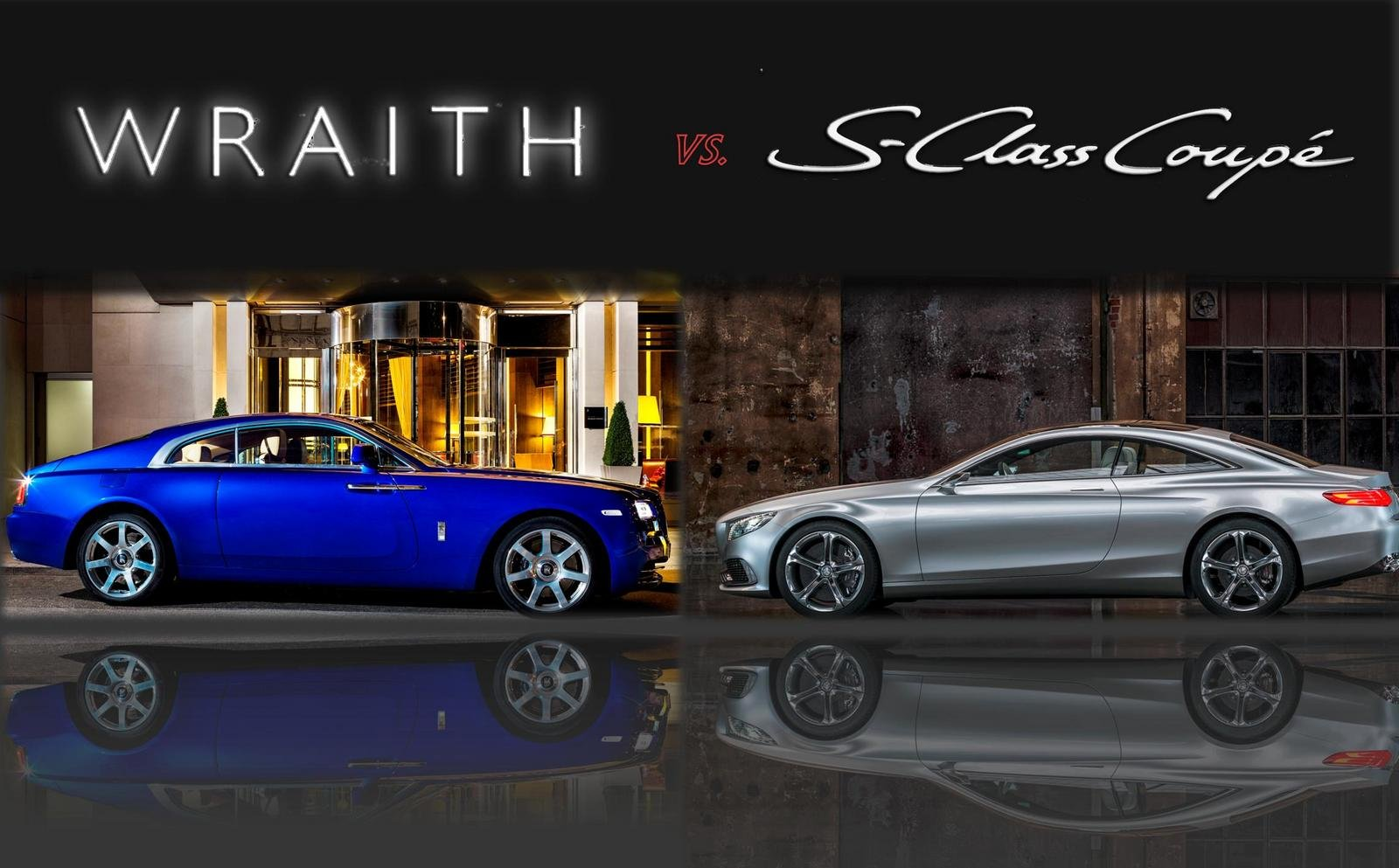 TopSpeed Design Showdown 2014 Rolls Royce Wraith Vs 2013