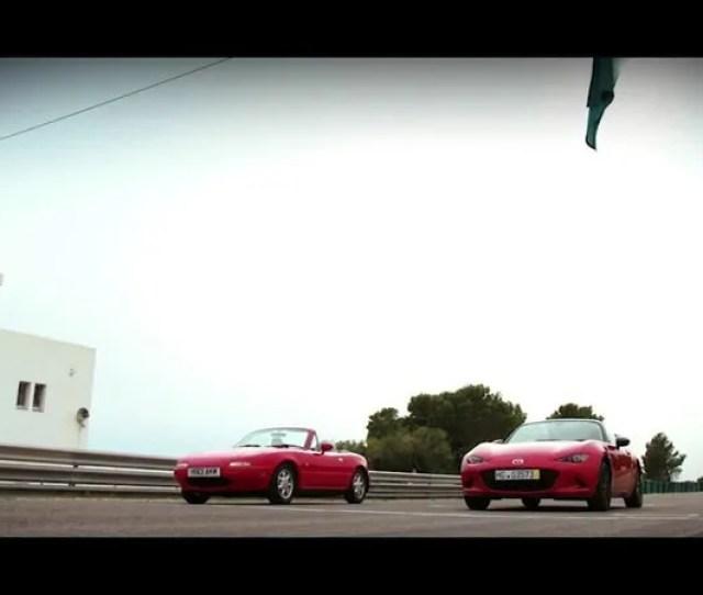 Mazda Mx  Miata Track Comparison Na Vs Nd Video