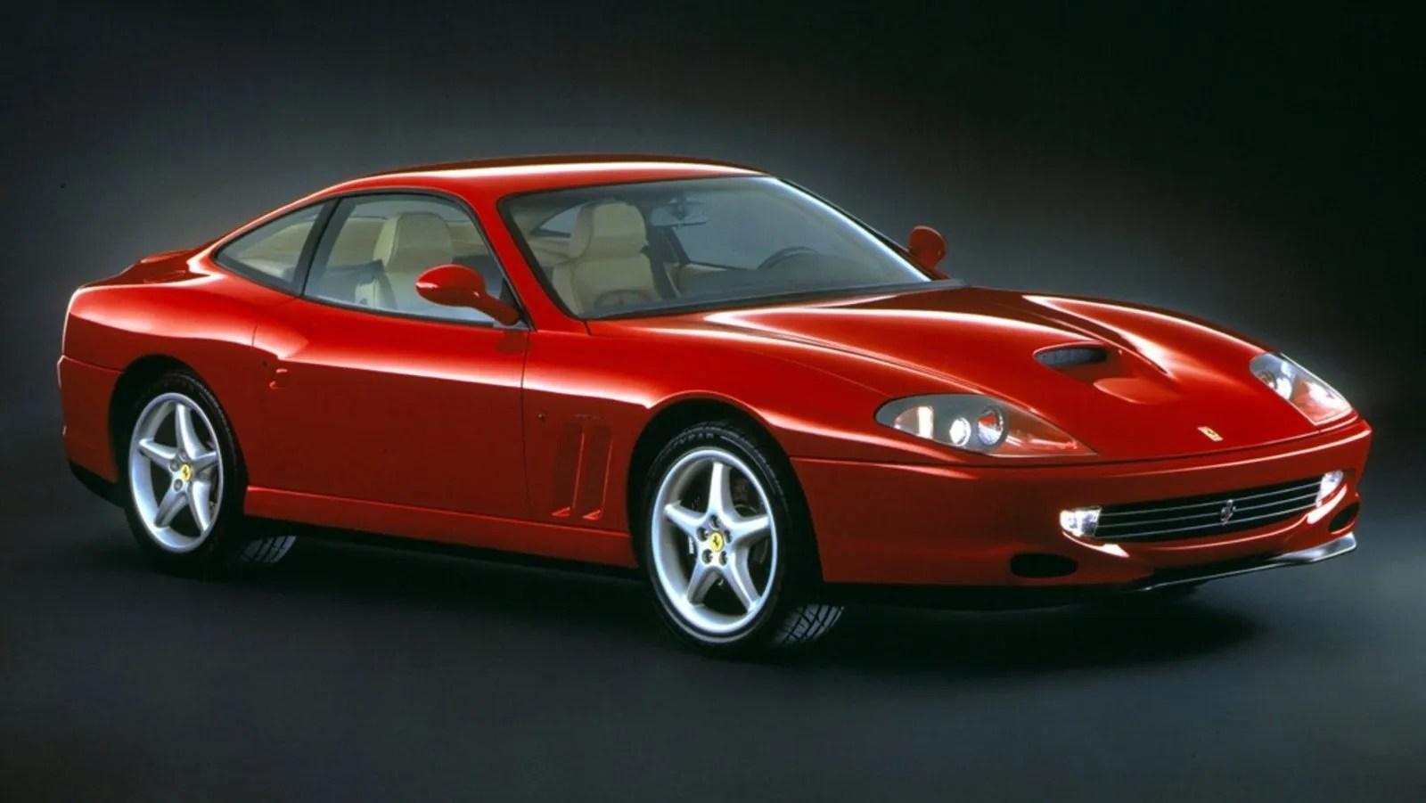 2001 Ferrari 550 Maranello Review