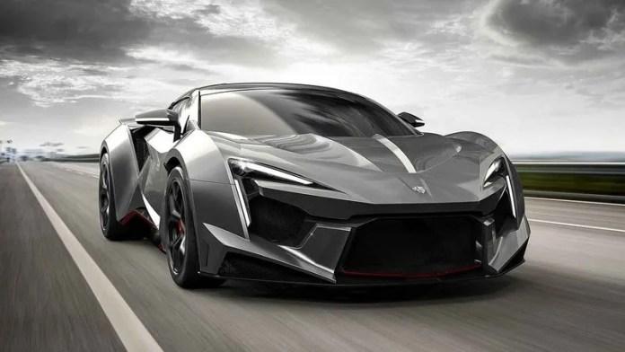 Арабские автомобили: Fenyr SuperSport