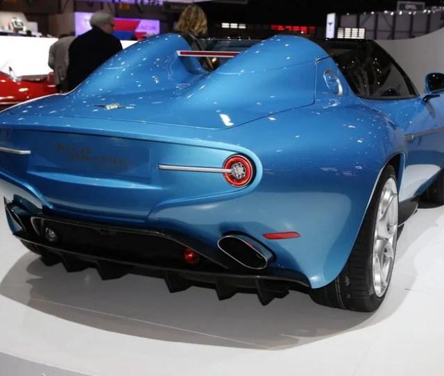 Touring Superleggera Disco Volante Spyder High Resolution Exterior Image  Using Alfa Romeo
