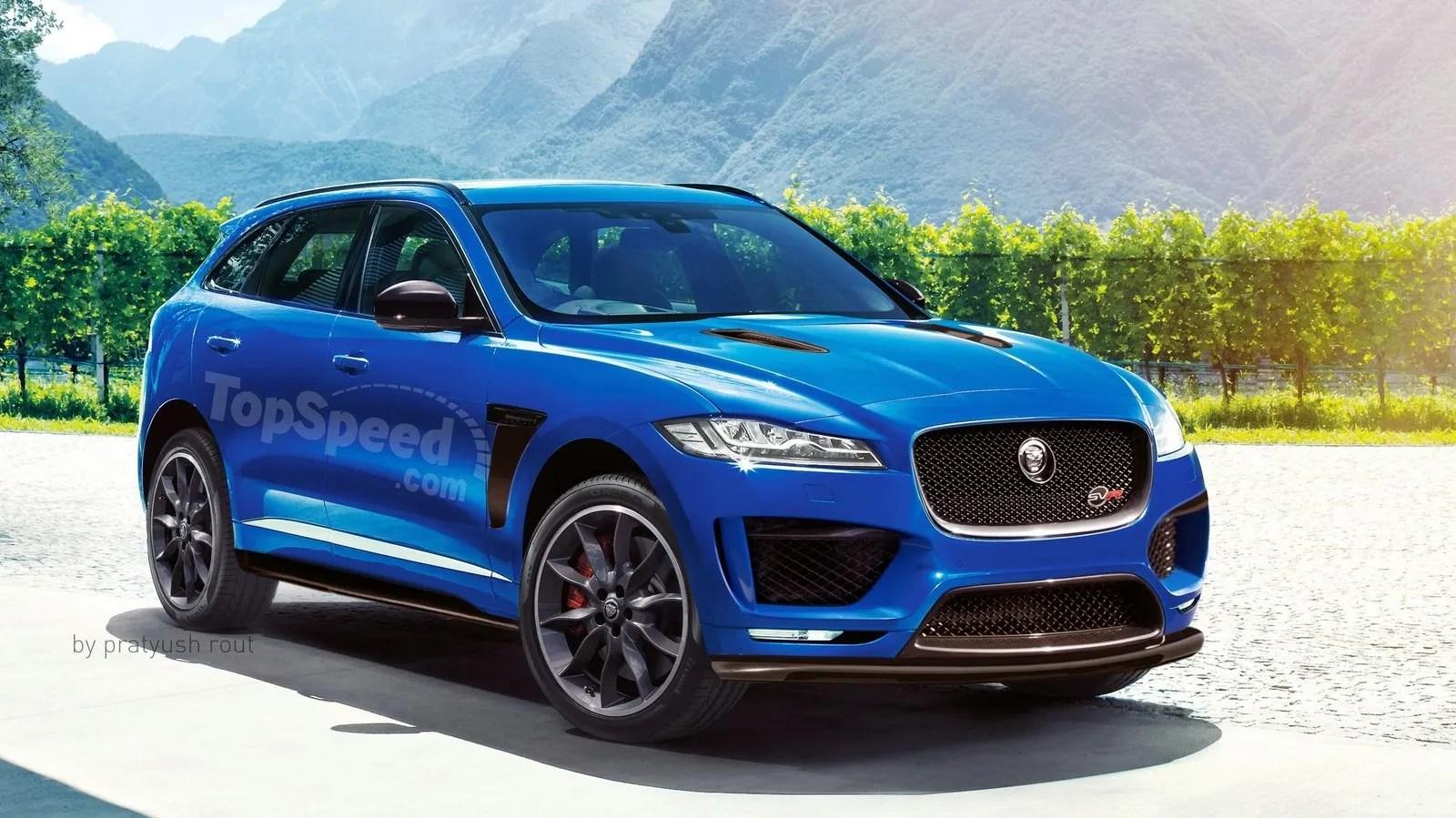 2018 Jaguar F Pace SVR Review Top Speed