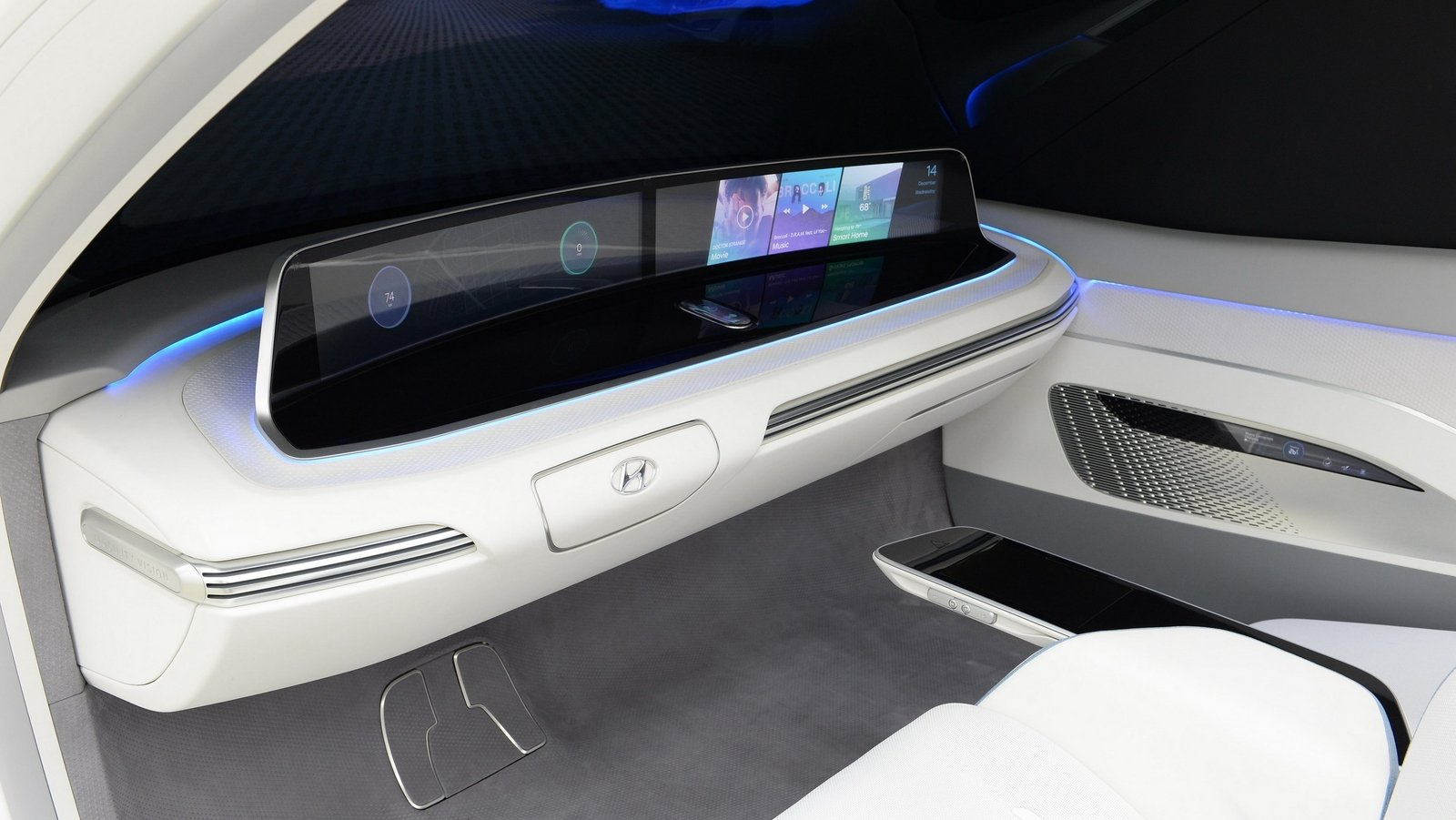 Hyundai Health Care Cockpit Shows The Future Of Stress