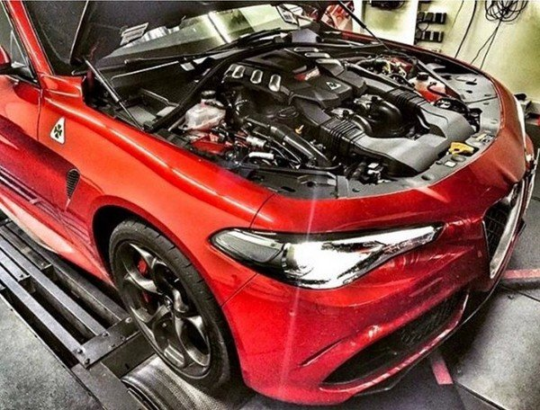 A Tuning Company has Managed to Get more than 600 Ponies out of the Giulia Quadrifoglio