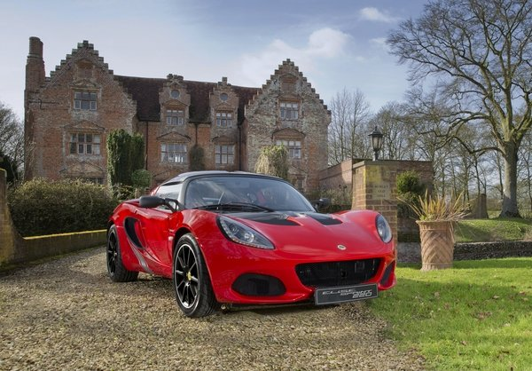 New Lotus Elise Sprint Edition Is Lighter, Quicker
